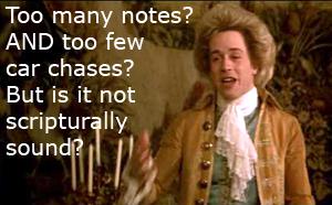 Amadeus-scripturally sound?
