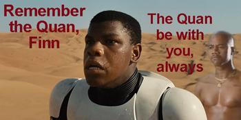 The Force Awakens: Finn as Token Black Athlete