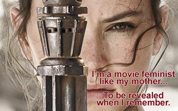 The Force Awakens: Rey as feminist myth