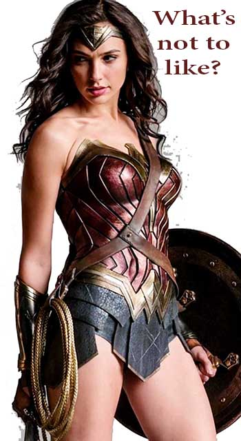 What's Not to Like about Wonder Woman?